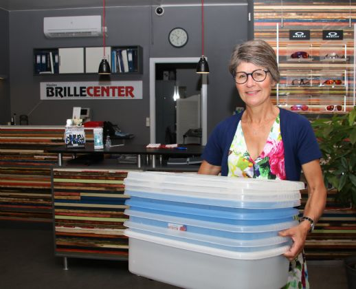 Haslev Brillecenter er i gang med stor renovering