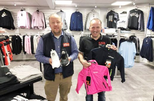 Sports-outlet i SuperBrugsen