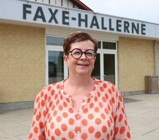 Lis Albrechtsen - ny formand for Faxe Hallerne